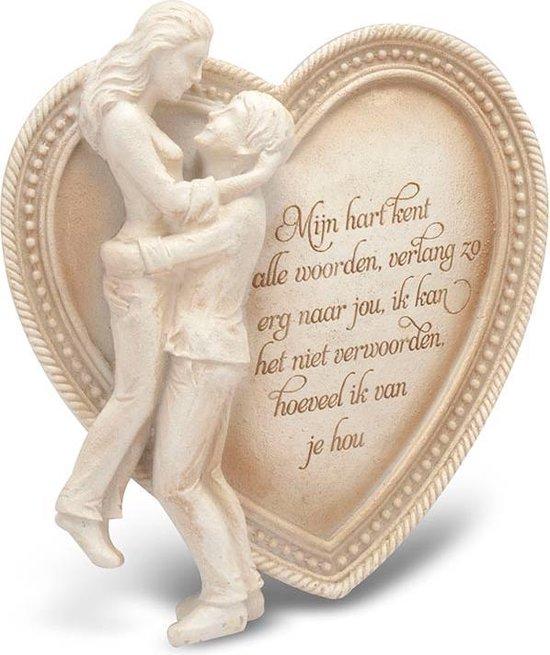"""Arts in Stone Memories """"Ik hou van jou ( Mijn hart )"""""""