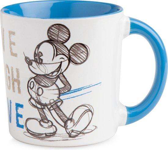 Disney mug Mickey Mouse thema blauw tas