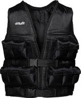 VirtuFit Verstelbaar Gewichtsvest Pro - 20 kg - Zwart