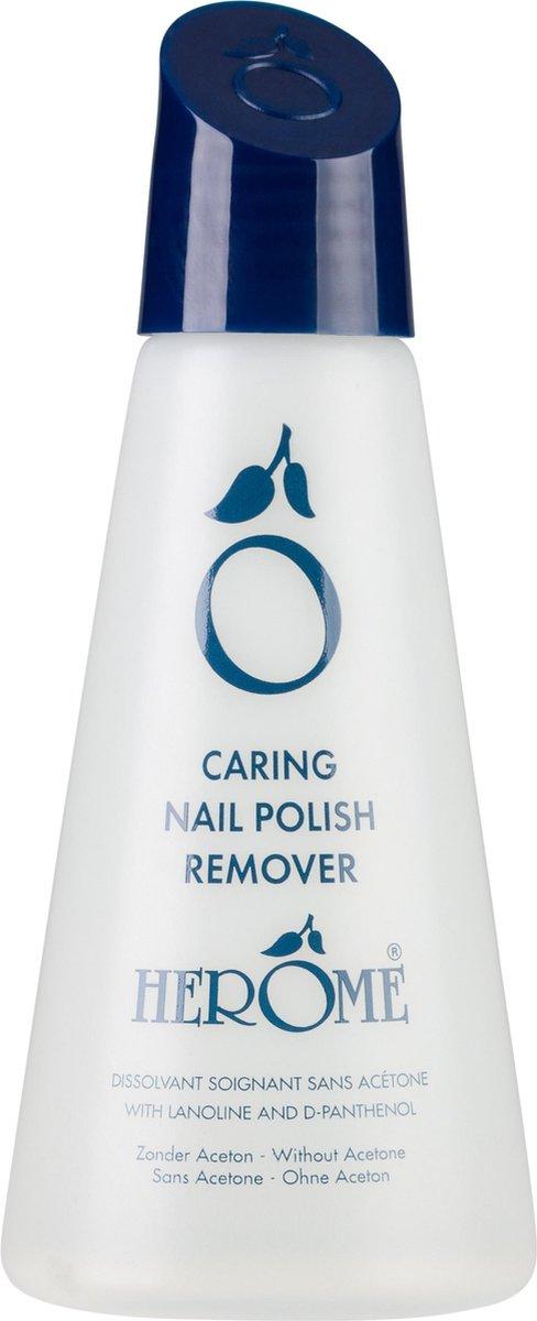 Herôme Caring Nail Polish Remover - 125 ml - remover - Herôme