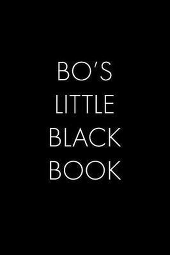 Bo's Little Black Book