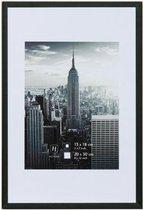 Fotolijst - Henzo - Manhattan - Fotomaat 50x70 - Zwart