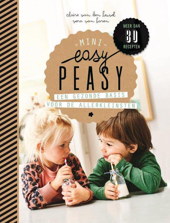 Boek cover Easy Peasy Mini van Claire van der Heuvel (Hardcover)