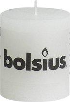Bolsius Rustieke Stompkaars - 80/68 - Wit - 1 Stuk