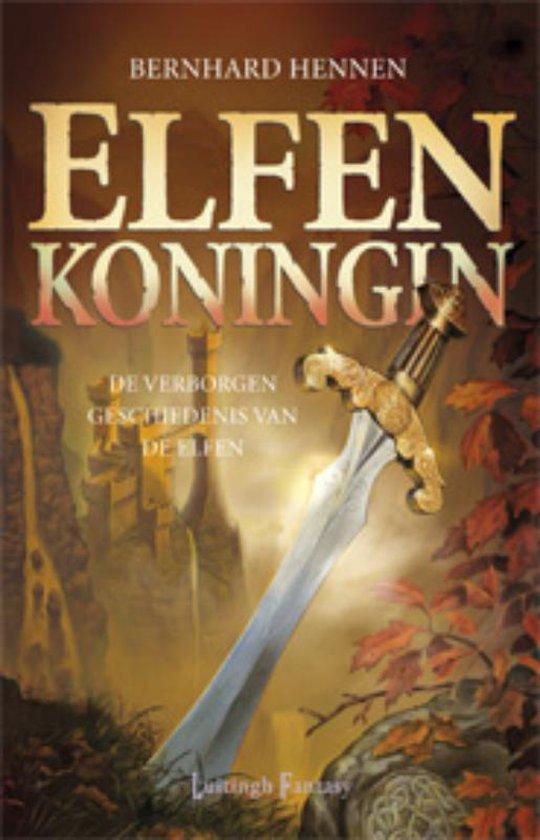 Cover van het boek 'Elfenkoningin'