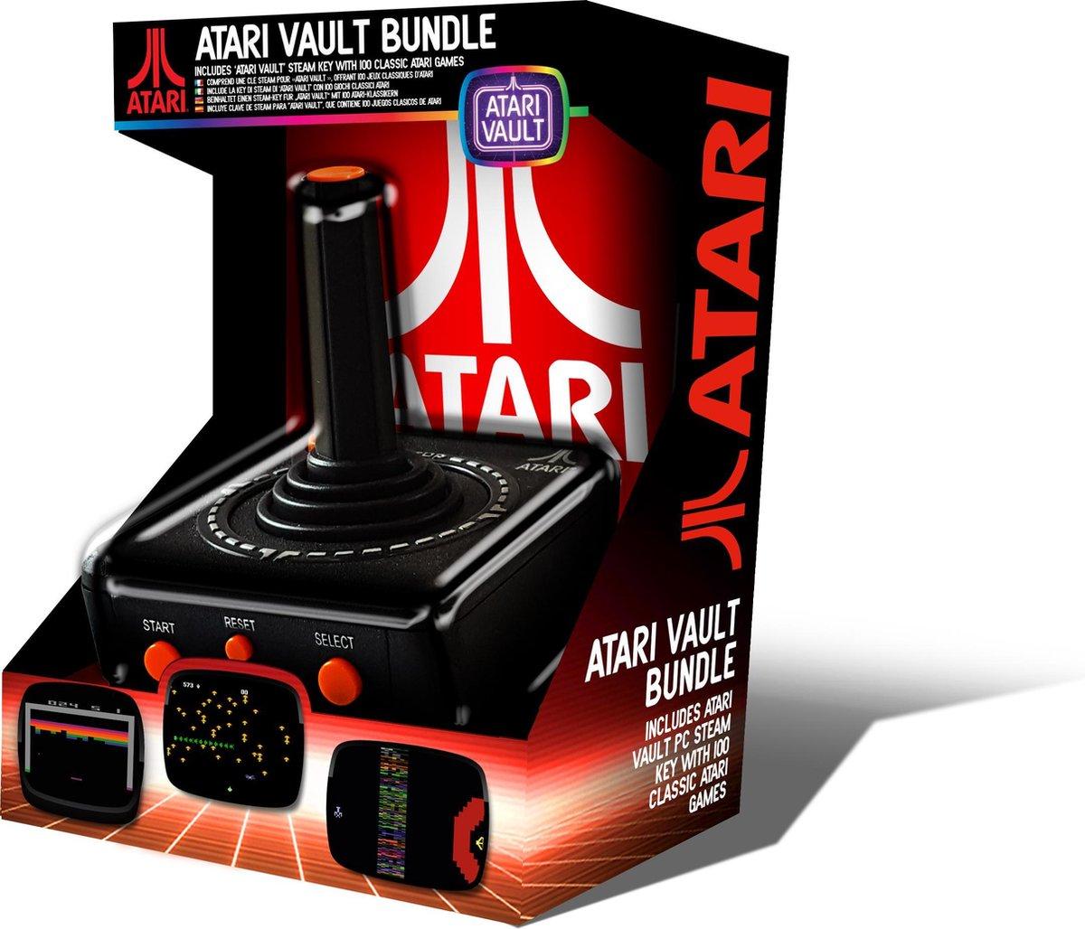 Atari Retro PC USB Joystick   Vault Bundle (100 games)