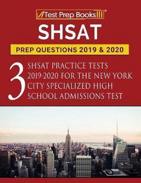 SHSAT Prep Questions 2019 & 2020
