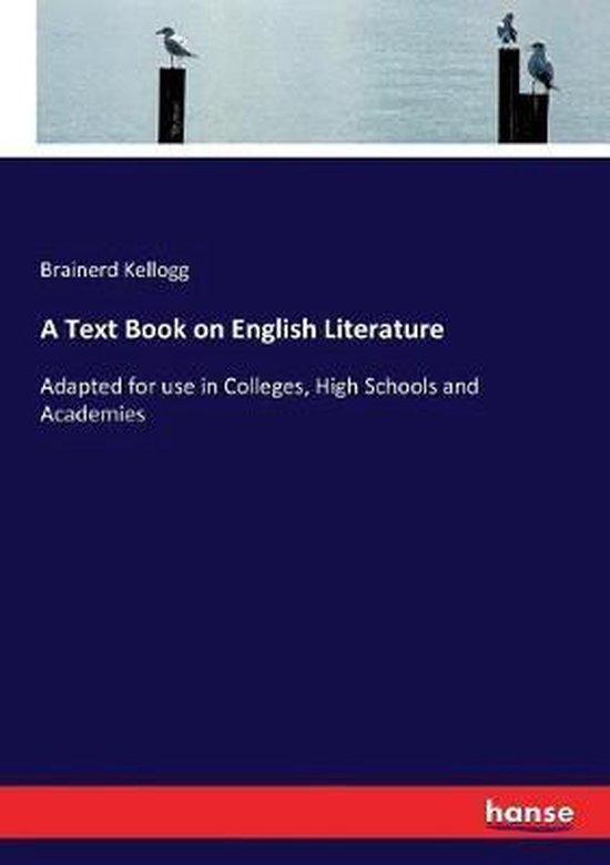 A Text Book on English Literature