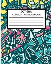 Dot Grid Composition Notebook