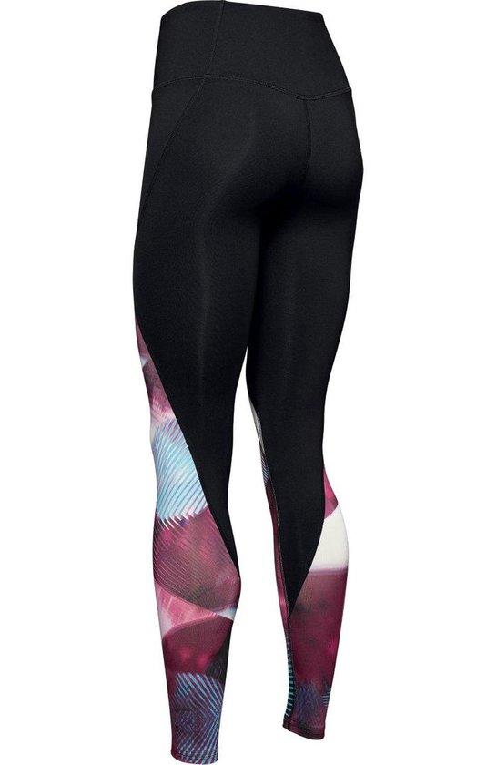 Bol Com Under Armour Rush Legging Print Dames Sport Legging Level Purple Maat S
