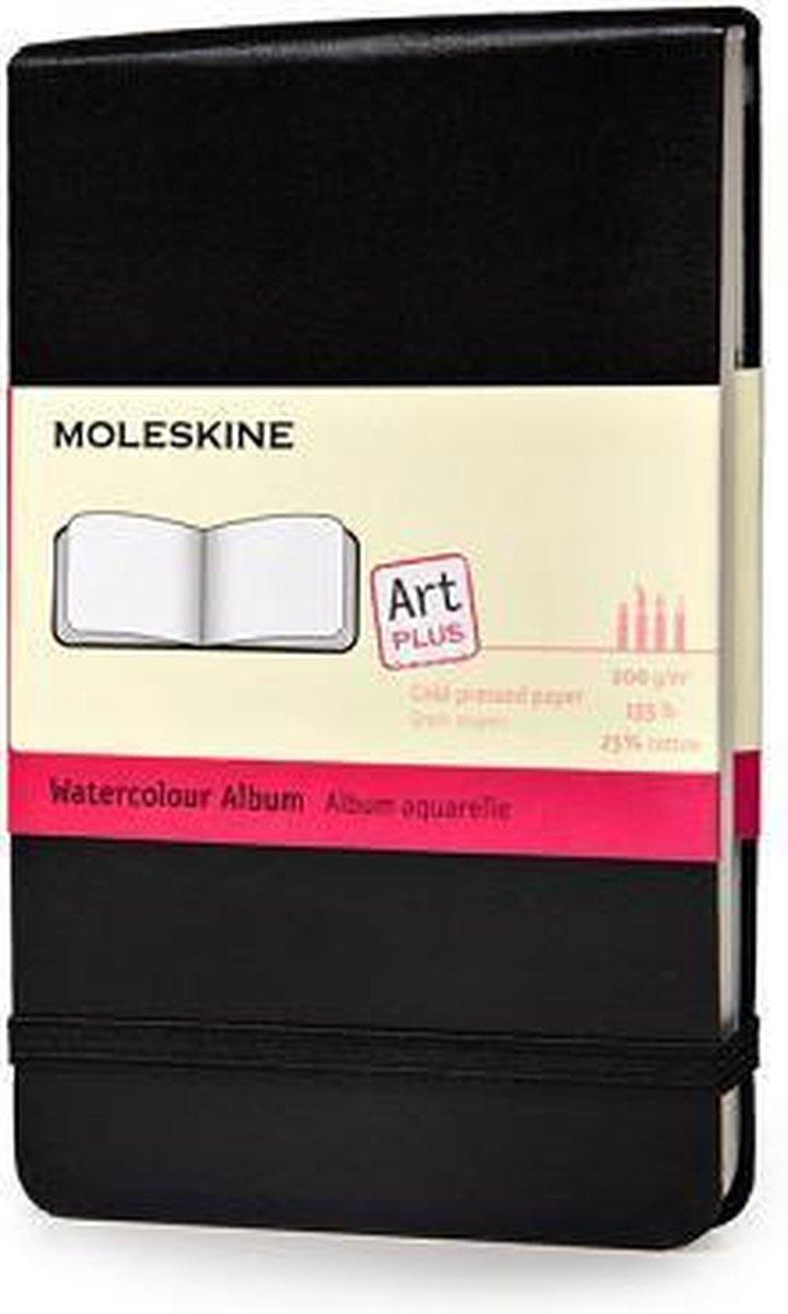 Moleskine Art Waterverf Album Pocket - Hard cover - Blanco - Zwart - Moleskine