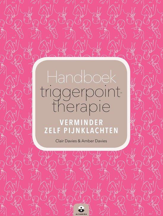 Boek cover Handboek triggerpointtherapie van Amber Davies (Paperback)