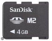 SanDisk Memorystick Micro M2 4GB - geheugenkaart