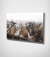 Kerlingarfjöll In Iceland canvas | 80x120 cm