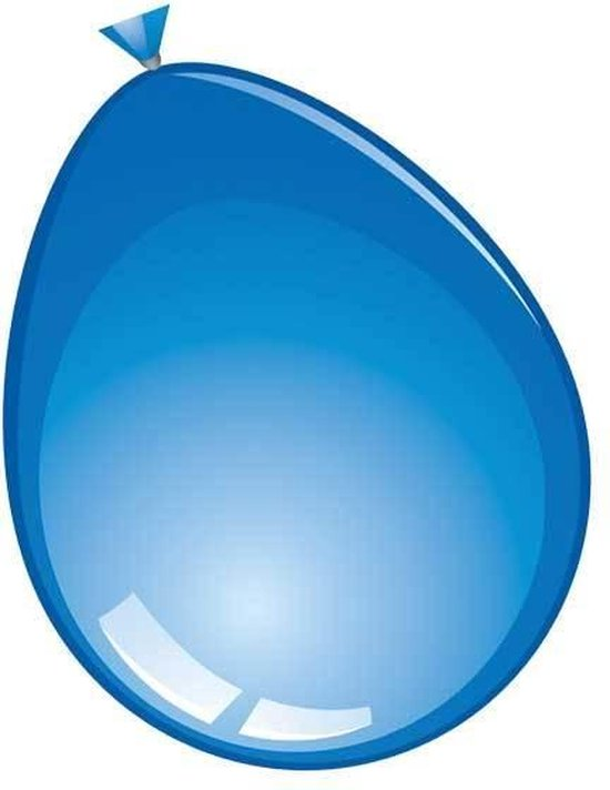 ballon 24 inch 60 cm donkerblauw 10 stuks