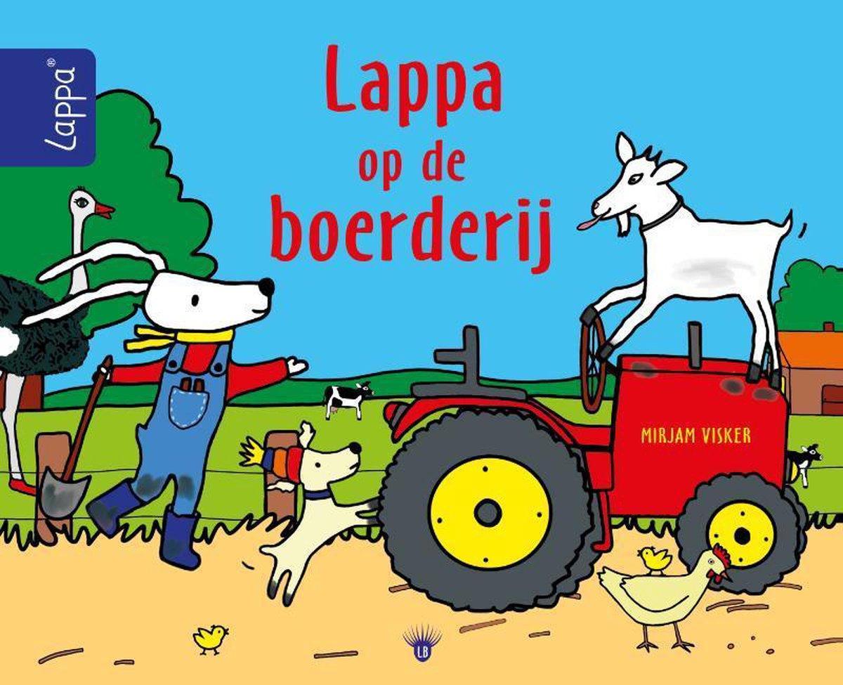 LAPPA® kinderboeken - Lappa op de boerderij