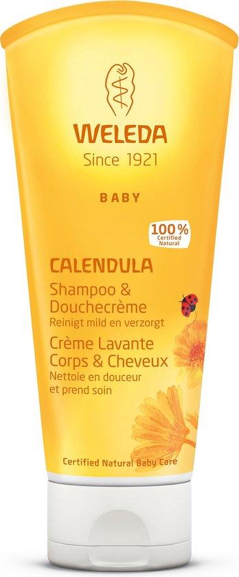 Weleda Calendula Baby Haar En Bodyshampoo - 200 ml - Natuurlijk