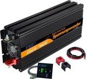 Edecoa 12V-230V Zuivere Sinus Omvormer - 3500W/7000W + controller