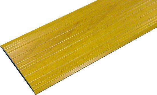 Drempelprofiel TP105B90 - Aluminium met houtkleur - Ter vervanging van drempel