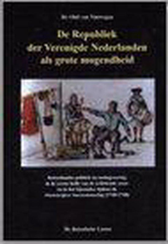 De Republiek der verenigde nederlanden als grote mogendheid - van Nimwegen |