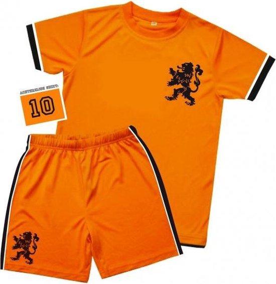 Voetbal tenue voor kinderen 3-5 jaar (S)