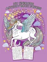 My Unicorn Activity Book Favors