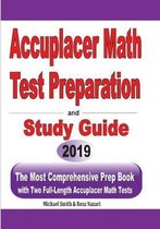 Accuplacer Math Test Preparation and study guide