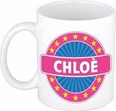 Chloe naam koffie mok / beker 300 ml  - namen mokken