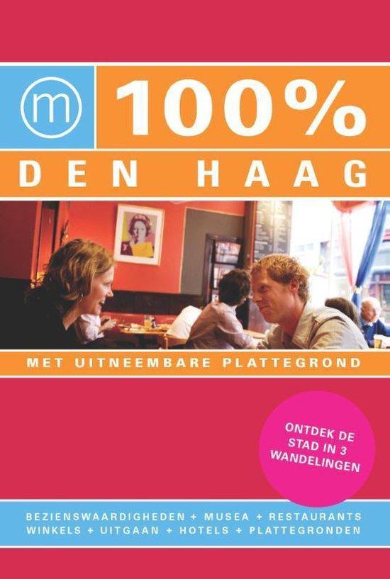 Cover van het boek '100% Den Haag' van Anouk Heida