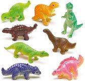 Elastische dinosaurussen  (12 stuks per verpakking)