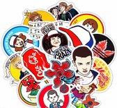 Stranger Things Stickers - 29 Stuks - Gemixt - Laptop Stickers