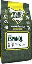 Yourdog galgo espaã?ol hondenvoer pup 3 kg