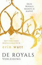 Boek cover De Royals 1 - Verleiding van Erin Watt (Onbekend)