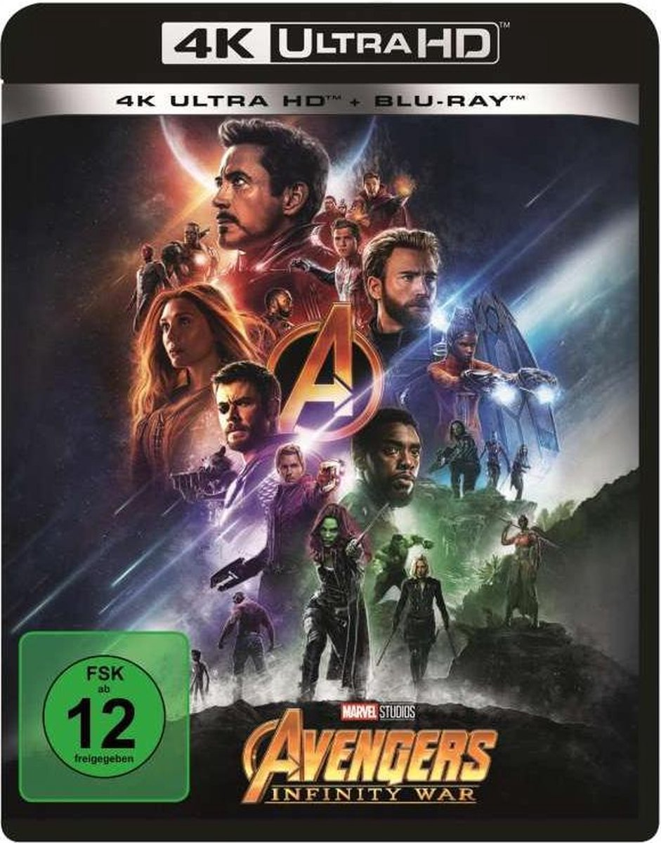Avengers: Infinity War (4K Ultra HD Blu-ray & Blu-ray) (Import)-
