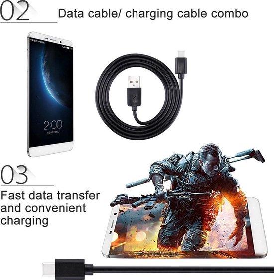 Haweel Gecertificeerde Type C kabel 1 Meter USB C Cable voor Samsung Galaxy Samsung Galaxy S9 (Plus),S8 (Plus), C9 Pro