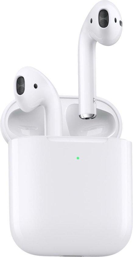 Apple AirPods 2 - met draadloze oplaadcase