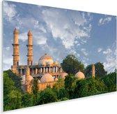 De moskee van Ahmedabad in India Plexiglas 180x120 cm - Foto print op Glas (Plexiglas wanddecoratie) XXL / Groot formaat!
