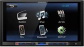 autoradio Kenwood inclusief 2-DIN FIAT Stilo 2001-2007 frame Audiovolt 11-059