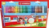 STABILO Power Stiften - Etui 30 stuks