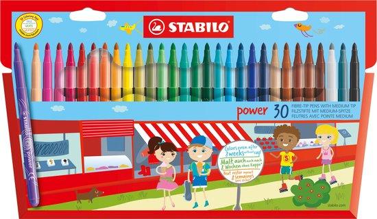 STABILO power 30 Viltstiften - Etui