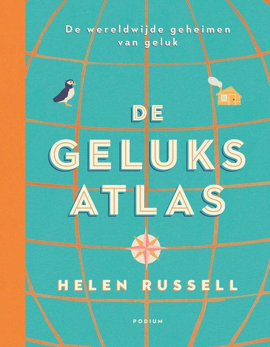 Boek cover De geluksatlas van Helen Russell (Hardcover)
