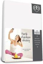 Bed-Fashion katoenen laken Wit - 160 x 260 cm - Wit