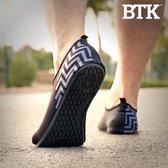 BTK Running Slippers Unisex - Zwart - Maat 35-36