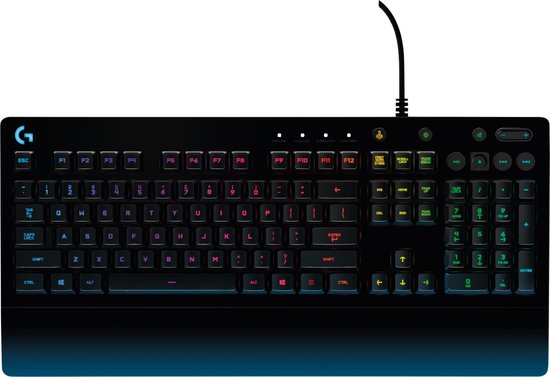 Logitech G213 - Prodigy Gaming Toetsenbord - QWERTY US / Zwart
