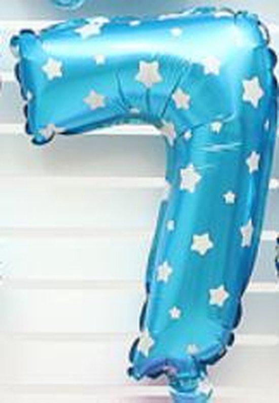 XL Folie Ballon (7) - Helium Ballonnen - Babyshower - Verjaardag - Blauw