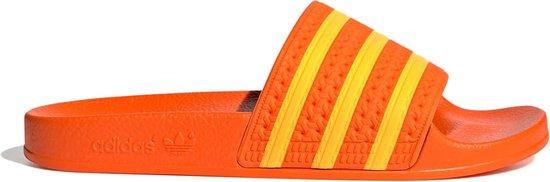 adidas Adilette Slippers - Maat 37 - Vrouwen - oranje