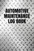 Automotive Maintenance Log Book
