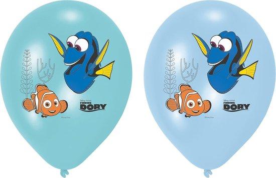 Amscan Ballonnen Finding Dory 28 Cm Blauw/turquoise 6 Stuks