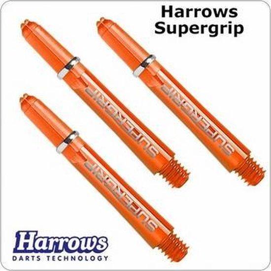 Afbeelding van het spel Harrows Supergrip Short Orange  Set à 3 stuks