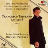 Piano Concerto In G/Piano Concerto No.5/3 Improvis